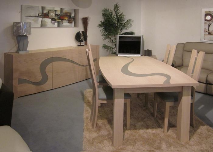 Venez voir nos nouvelles salles manger meubles meyer - Enfilade salle a manger ...