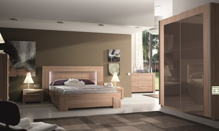 d co chambre bois clair. Black Bedroom Furniture Sets. Home Design Ideas