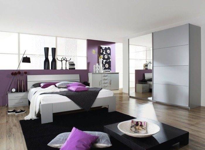 chambre a coucher habitat avec des id es. Black Bedroom Furniture Sets. Home Design Ideas