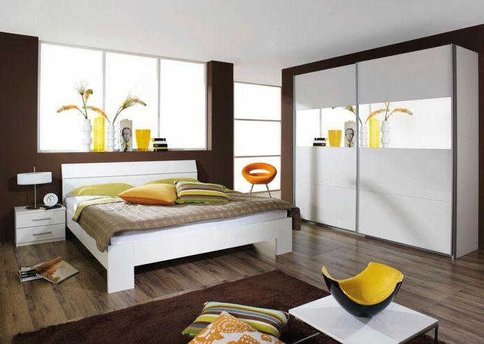 Maison Contemporaine Bois En Kit : Chambre Adulte Blanc Laqué Chambre adulte complète design laquà