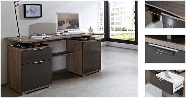 meubles bureaux perfect bureau tiroir jimi la redoute. Black Bedroom Furniture Sets. Home Design Ideas